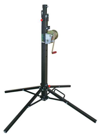 Telescopic tower with adjustable leg system