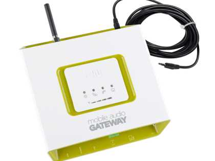 2N® Mobile Audio Gateway (GSM--> PA system)