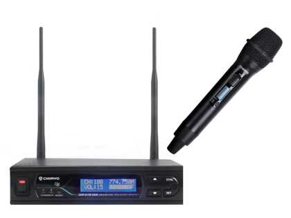 Wireless Radio Microphone System: Handheld