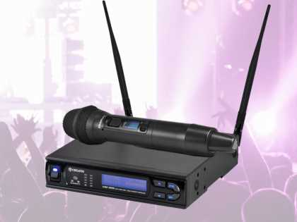 Wireless Microphone System: Handheld (tht)