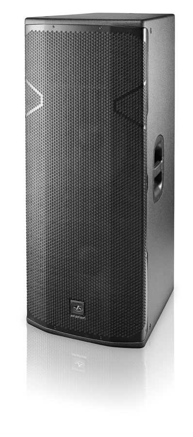 "DAS Vantec 2x15"", 2250 Wpeak, Class D, 3way speaker"