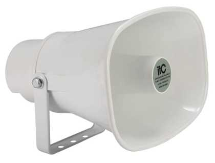 Outdoor 15W/8ohm horn siren speaker, IP66 15W