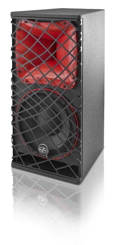 "Sound Force 400W, 10"" 2 way Mid High Speaker, 110x50"