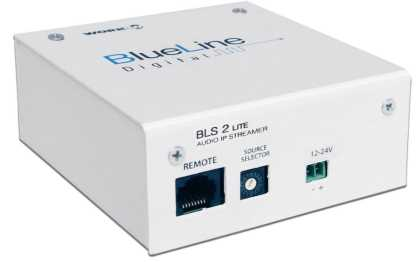 BLS 2 LITE - Audio IP STREAMER - Blueline digital