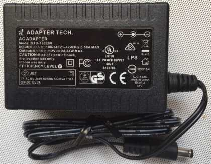 12V 2A Switching general use power supply