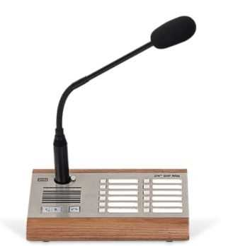 2N SIP Mic Organic Paging Console with microphone