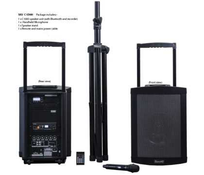 Challenger 1000 with Mic, Speaker Stand and Cover
