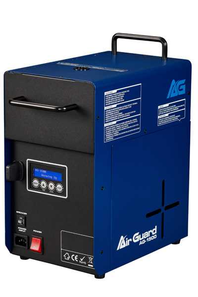 AirGuard AG-1500 Fog Machine Disinfector
