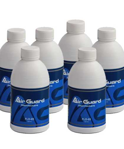 AirGuard Sanitiser solution - 6 Pack