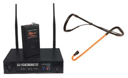 CycleMic Wireless Headset Microphone Package