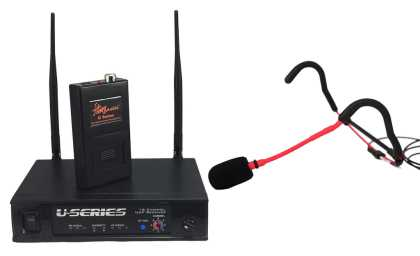 E-Mic Wireless Headset Microphone Package