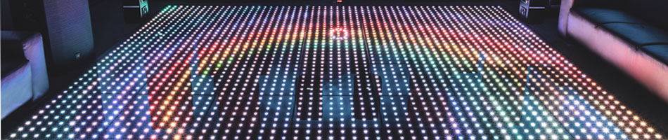 Everything you need to know about our LED lightup dance floor