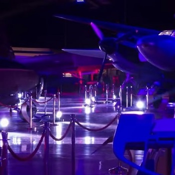 Event Lighting Hire - MOTAT Transformed